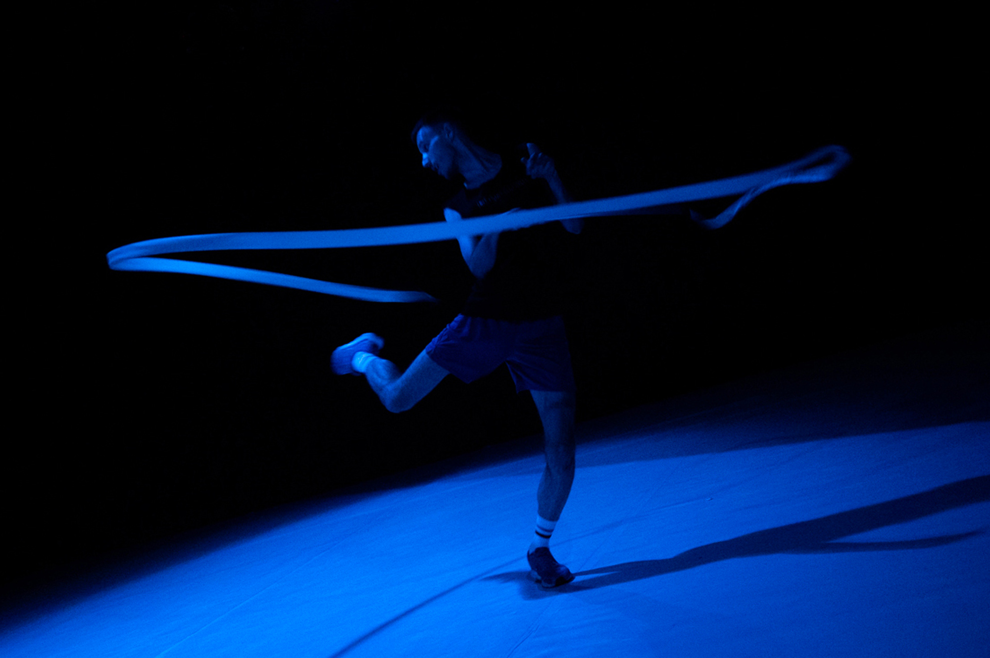 Blue (ribbon dance)